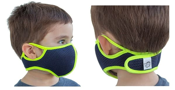 Washable Face Mask for Kids with Filters