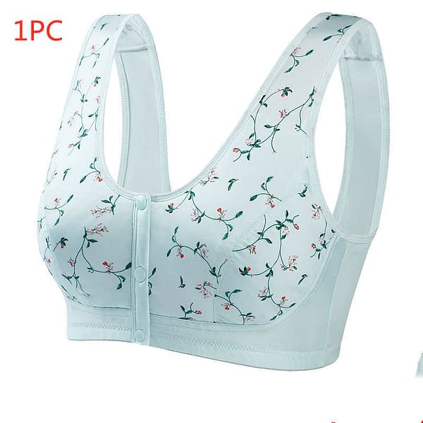 Bra Without Steel Ring Front Button Vest