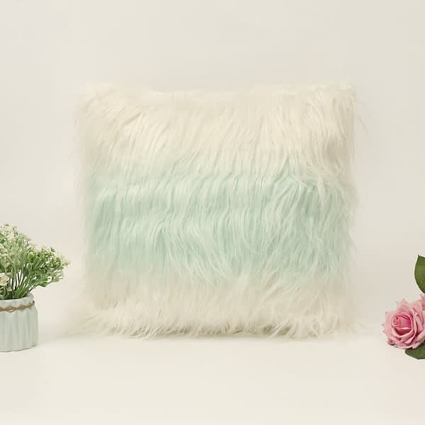 Soft Fur Plush Cushion Cover